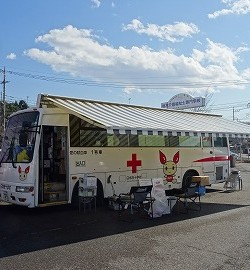 献血にご協力お願いします!